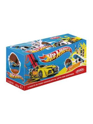 Dolfin Hot Wheels Box Mini Eggs Tripack