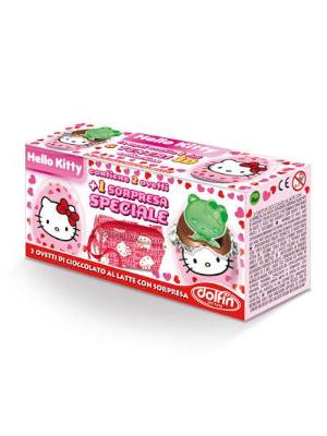 Dolfin Hello Kitty Box 2 Mini Eggs