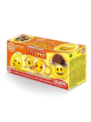 Dolfin Emoji Box 2 Mini Eggs