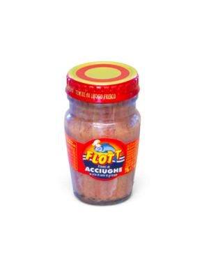Flott Filetti Di Alici in Olio di Girasole 80g